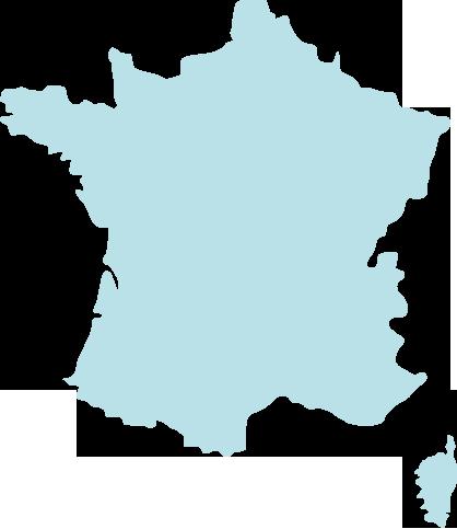 Carte des Cordées en France