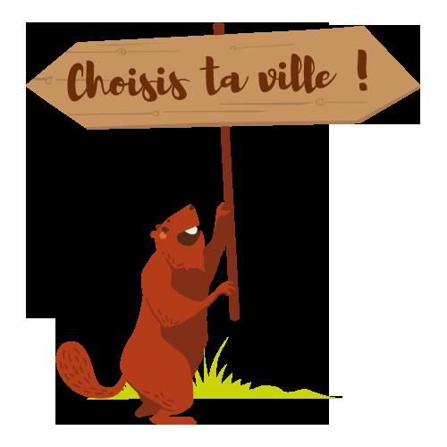 Marmotte panneau