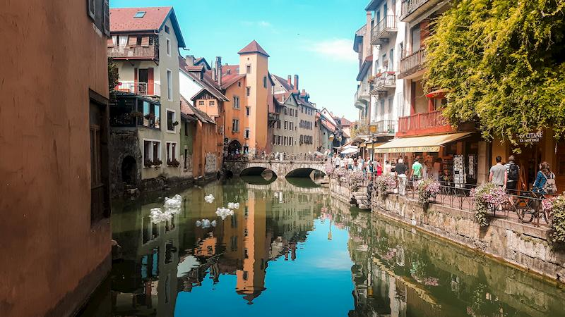 Photographie d'Annecy