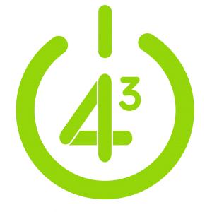 Logo le 4 puissance 3 monistrol