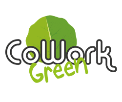 Logo Cowork Green PNG